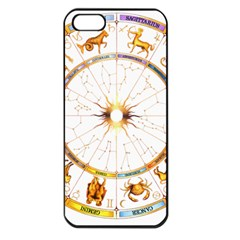 Zodiac Institute Of Vedic Astrology Apple iPhone 5 Seamless Case (Black)