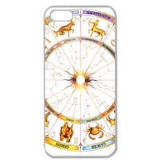 Zodiac Institute Of Vedic Astrology Apple Seamless iPhone 5 Case (Clear)