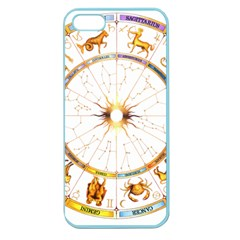 Zodiac Institute Of Vedic Astrology Apple Seamless iPhone 5 Case (Color)