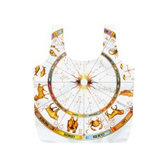 Zodiac Institute Of Vedic Astrology Full Print Recycle Bags (S)