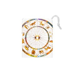Zodiac Institute Of Vedic Astrology Drawstring Pouches (XS)