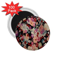 Japanese Ethnic Pattern 2 25  Magnets (100 Pack)