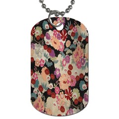 Japanese Ethnic Pattern Dog Tag (Two Sides)