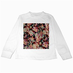 Japanese Ethnic Pattern Kids Long Sleeve T-Shirts