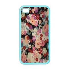 Japanese Ethnic Pattern Apple iPhone 4 Case (Color)