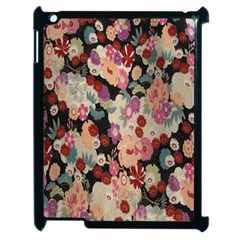 Japanese Ethnic Pattern Apple iPad 2 Case (Black)
