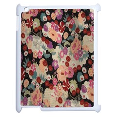 Japanese Ethnic Pattern Apple iPad 2 Case (White)