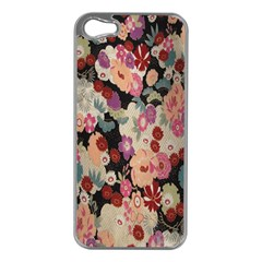 Japanese Ethnic Pattern Apple iPhone 5 Case (Silver)