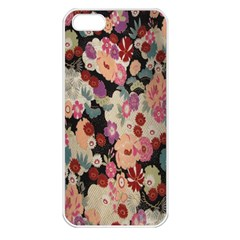 Japanese Ethnic Pattern Apple iPhone 5 Seamless Case (White)