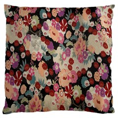 Japanese Ethnic Pattern Standard Flano Cushion Case (two Sides)