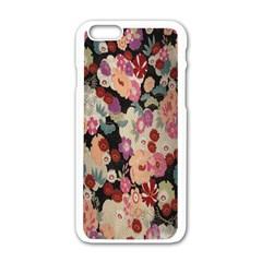 Japanese Ethnic Pattern Apple iPhone 6/6S White Enamel Case