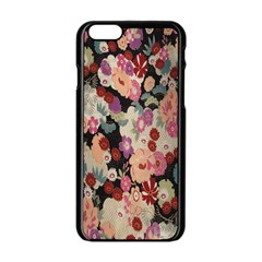 Japanese Ethnic Pattern Apple Iphone 6/6s Black Enamel Case