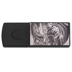 Chinese Dragon Tattoo USB Flash Drive Rectangular (2 GB)