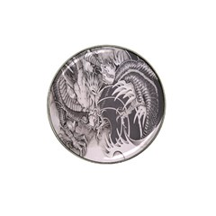 Chinese Dragon Tattoo Hat Clip Ball Marker (4 pack)
