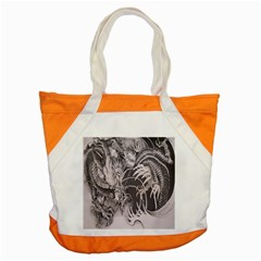 Chinese Dragon Tattoo Accent Tote Bag