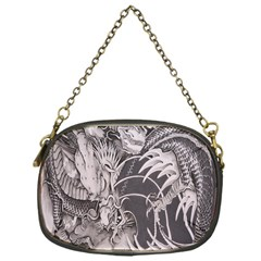 Chinese Dragon Tattoo Chain Purses (One Side)
