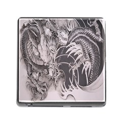 Chinese Dragon Tattoo Memory Card Reader (square)