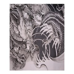 Chinese Dragon Tattoo Shower Curtain 60  x 72  (Medium)