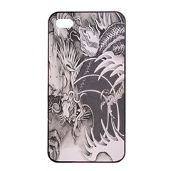 Chinese Dragon Tattoo Apple iPhone 4/4s Seamless Case (Black)