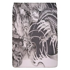 Chinese Dragon Tattoo Flap Covers (S)