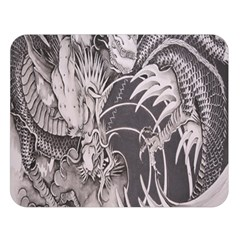 Chinese Dragon Tattoo Double Sided Flano Blanket (Large)