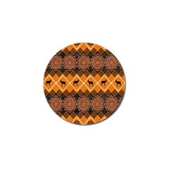 Traditiona  Patterns And African Patterns Golf Ball Marker (10 pack)