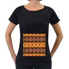 Traditiona  Patterns And African Patterns Women s Loose Fit T Shirt (black)