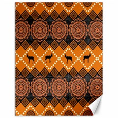 Traditiona  Patterns And African Patterns Canvas 12  X 16
