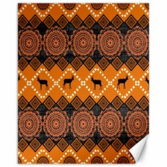 Traditiona  Patterns And African Patterns Canvas 16  x 20