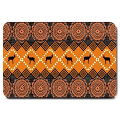 Traditiona  Patterns And African Patterns Large Doormat