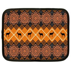 Traditiona  Patterns And African Patterns Netbook Case (Large)