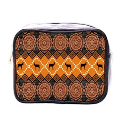 Traditiona  Patterns And African Patterns Mini Toiletries Bags