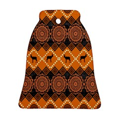 Traditiona  Patterns And African Patterns Ornament (Bell)