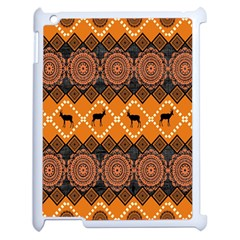 Traditiona  Patterns And African Patterns Apple iPad 2 Case (White)