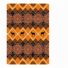 Traditiona  Patterns And African Patterns Small Garden Flag (two Sides)