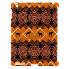 Traditiona  Patterns And African Patterns Apple iPad 3/4 Hardshell Case (Compatible with Smart Cover)