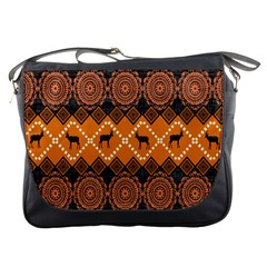 Traditiona  Patterns And African Patterns Messenger Bags