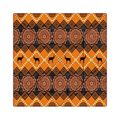 Traditiona  Patterns And African Patterns Acrylic Tangram Puzzle (6  x 6 )
