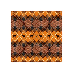 Traditiona  Patterns And African Patterns Acrylic Tangram Puzzle (4  X 4 )
