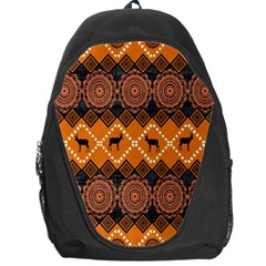Traditiona  Patterns And African Patterns Backpack Bag