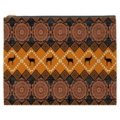 Traditiona  Patterns And African Patterns Cosmetic Bag (XXXL)