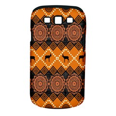 Traditiona  Patterns And African Patterns Samsung Galaxy S III Classic Hardshell Case (PC+Silicone)