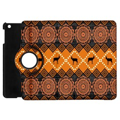 Traditiona  Patterns And African Patterns Apple iPad Mini Flip 360 Case