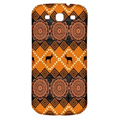 Traditiona  Patterns And African Patterns Samsung Galaxy S3 S III Classic Hardshell Back Case
