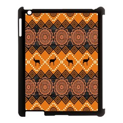 Traditiona  Patterns And African Patterns Apple iPad 3/4 Case (Black)