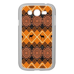 Traditiona  Patterns And African Patterns Samsung Galaxy Grand DUOS I9082 Case (White)
