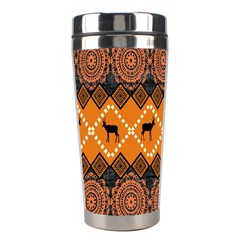 Traditiona  Patterns And African Patterns Stainless Steel Travel Tumblers