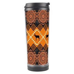 Traditiona  Patterns And African Patterns Travel Tumbler