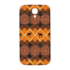 Traditiona  Patterns And African Patterns Samsung Galaxy S4 I9500/I9505  Hardshell Back Case
