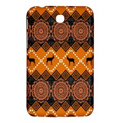 Traditiona  Patterns And African Patterns Samsung Galaxy Tab 3 (7 ) P3200 Hardshell Case